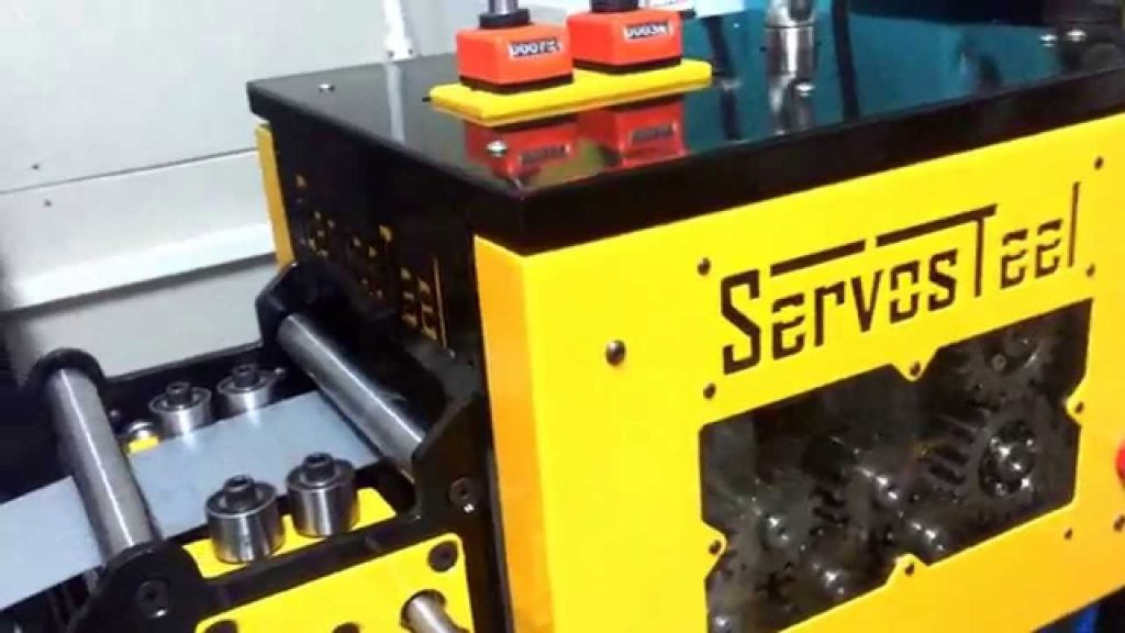 Servosteel Uncoiler Straightener Feeder Machines
