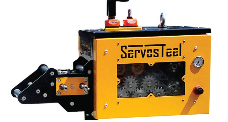Servosteel Mini Servo Feeder with Straightener