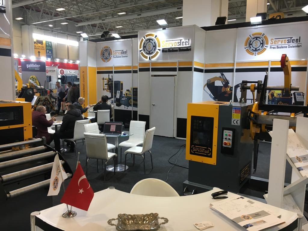 Servosteel participated at WIN Exhibition Istanbul