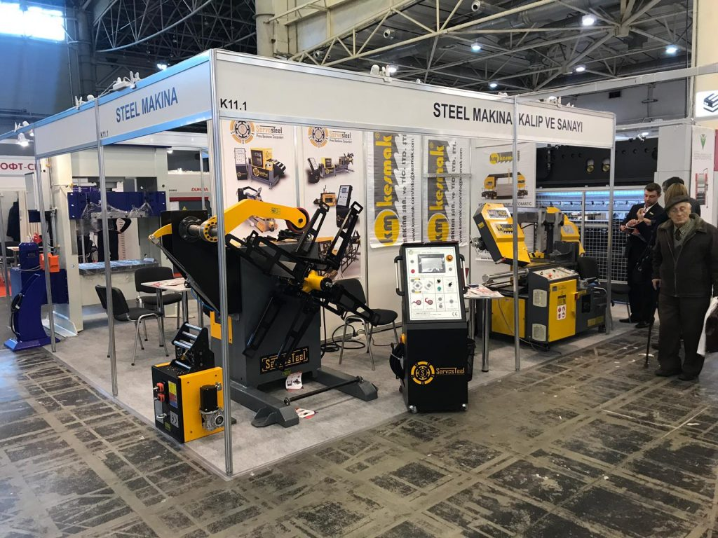 Servosteel at Kyiv Technical Fair 2019
