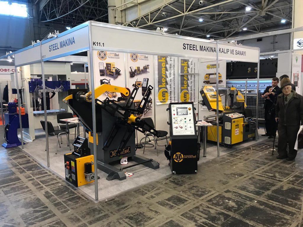Servosteel at Kyiv Technical Fair 2019