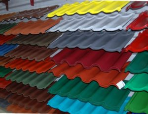 Aluminum Stainless Steel Roof Tile