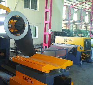 Electric Panel Production Line Roll Forming Line