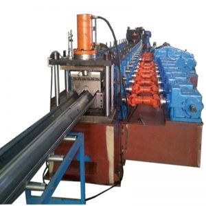 Highway Guardrail Road Barrier Roll Forming Machine