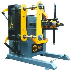 10 ton Hydraulic Decoiler 10000 kg Hydraulic Uncoiler