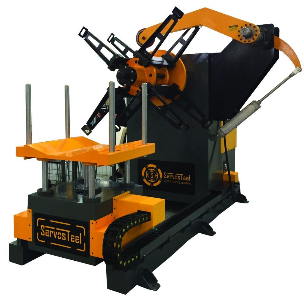 6 ton Hydraulic Decoiler 6000 kg Hydraulic Uncoiler