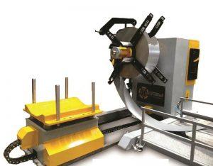 8 ton Hydraulic Decoiler 8000 kg Hydraulic Uncoiler