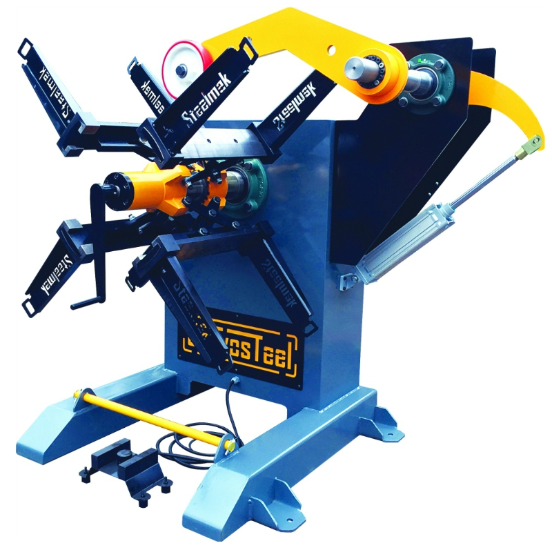 1500 kg Mechanical Decoiler Uncoiler