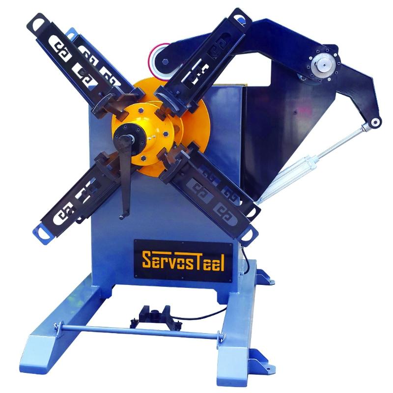 2500 kg Mechanical Decoiler Uncoiler