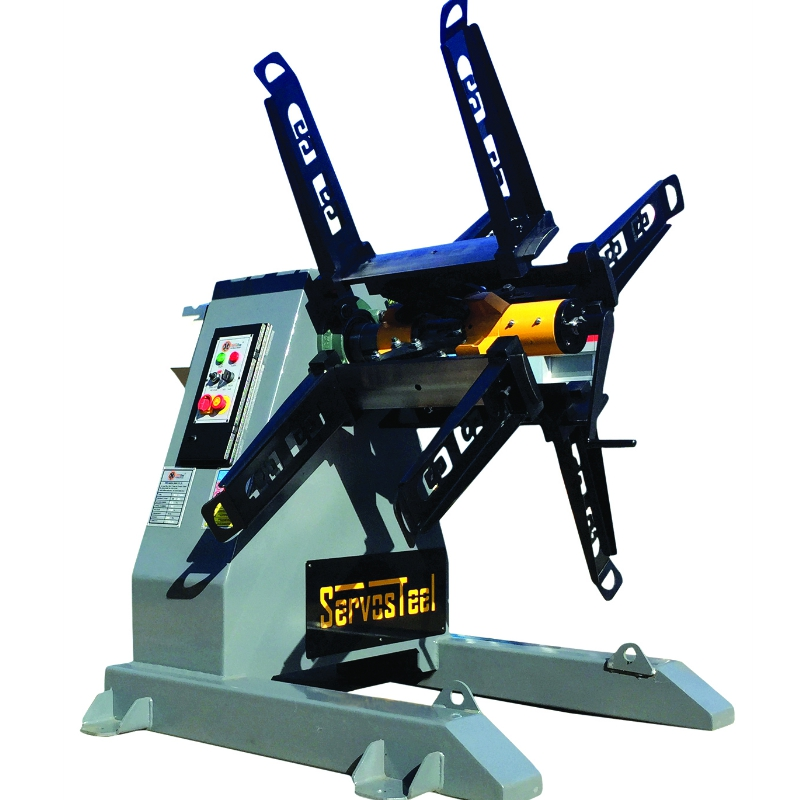 750 kg Mechanical Decoiler Uncoiler