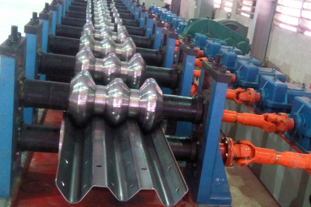Road Barrier Production Line Roll Forming Line