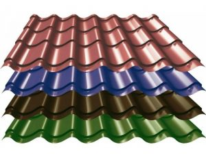 Steel Metal Roof Tile Production