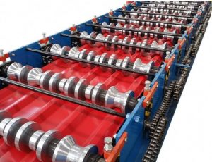 Steel Roof Tile Roll Forming Line