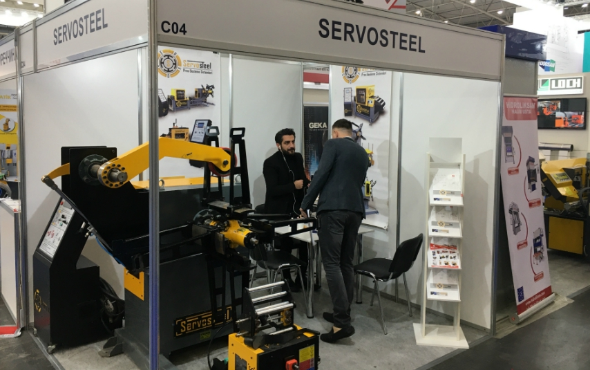 Servosteel participated at Kiev International Industrial Forum